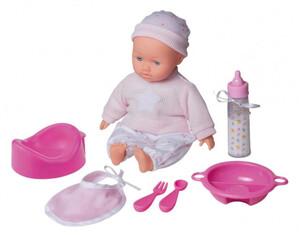 Babypuppe mit Zubehör