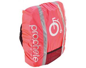 Regenabdeckung für Fahrradkörbe pink