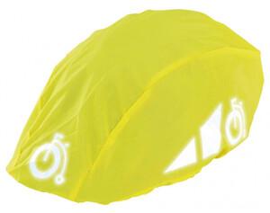 Regenschutz für Fahrradhelm gelb
