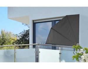 Wind-und Sichtschutz ca. 1,2 x 1,2 m grau