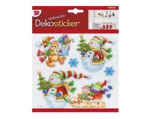 Dekosticker Weihnachten