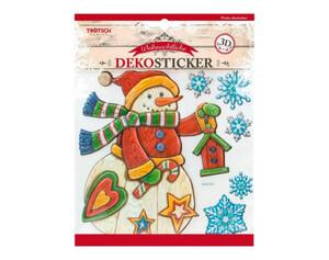 Dekosticker Weihnachten in Holzoptik