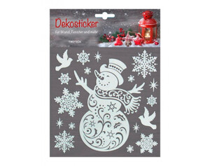 Dekosticker Weihnachtsidylle