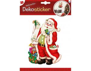 Dekosticker Weihnachten 3D