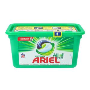 Ariel Textilwaschmittel Pods Universal 3in1 40 WL