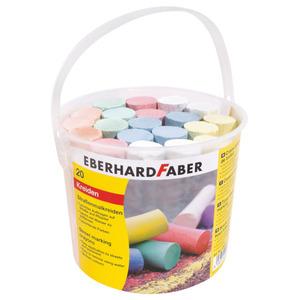 Eberhard Faber Straßenmalkreide 20er im Eimer (verschiedene Farben)