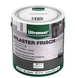 Ultrament Pflasterfarbe Pflaster Frisch 2,5 Liter transparent