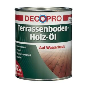DecoPro Terrassenboden Holzöl 2500 ml