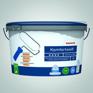 Komfortweiß matt, 5 Liter konservierungsmittelfrei