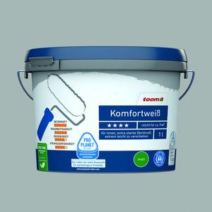 Komfortweiß matt, 1 Liter konservierungsmittelfrei