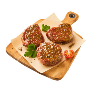 MEINE METZGEREI  	   Rinder-Filetsteak Black-aged Pepper