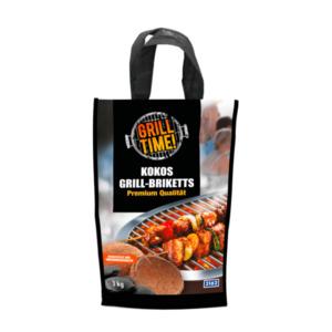 GRILL TIME     Kokos Grill-Briketts