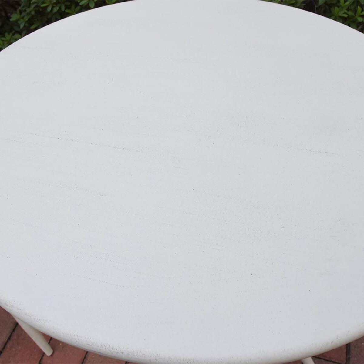 Bild 2 von Metalltisch Scandi 59x72cm Antik-Weiß