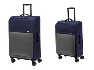 TOPMOVE® Koffer Set, 2-teilig, 62 und 96 l Volumen, 4 Rollen
