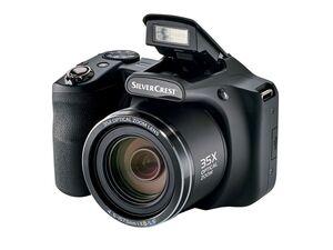 SILVERCREST® Digitalkamera »SBK 35 A1«, 16 Megapixel, 3 Zoll Display, Full-HD, Autofokus