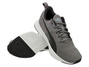 """Puma Sneaker Damen Herren """"Flyer Runner"""" Charcoal Gray"""