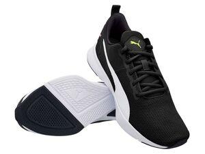 """Puma Sneaker Damen Herren """"Flyer Runner"""" black/pink/alert"""