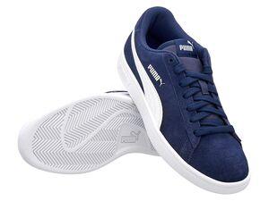 "Puma Sneaker Damen Herren ""Smash V2"" Peacoat-white"