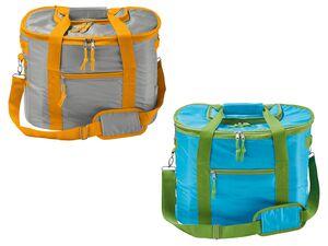 CRIVIT® Kühltasche, 35 l Fassungsvermögen, mit Reißverschluss, Schultergurt, Tragegriff