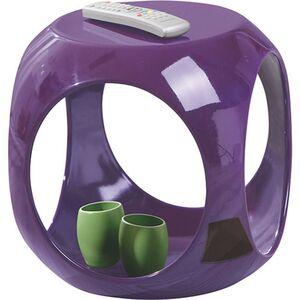 Inter Link Beistelltisch Nono rund Ultra Violet