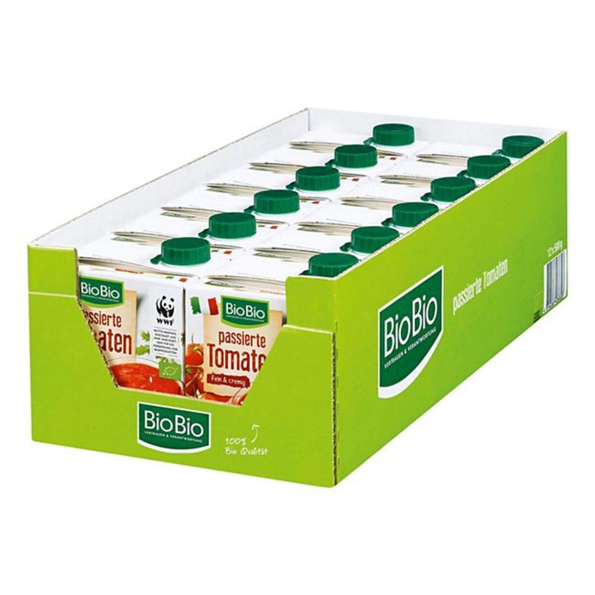 Bild 1 von BioBio Passierte Tomaten 500 g, 12er Pack