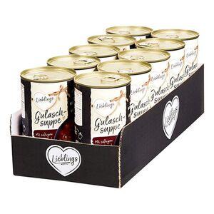 Lieblings Gulaschsuppe 480 ml, 10er Pack