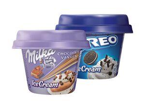Milka/Oreo/Daim Eiscreme