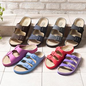 BioFun Relaxing Footwear Hochwertige Tieffußbett-Pantoletten