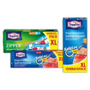 Toppits Allzweck-/ Gefrierbeutel