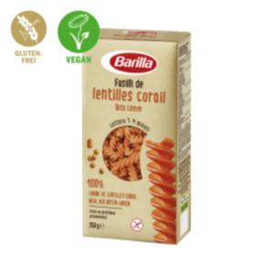 Barilla Pasta aus Hülsenfrüchten