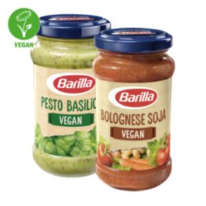 Barilla veganes Pesto oder Bolognese Soja Vegan