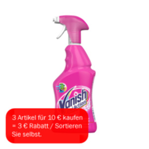 Vanish Oxi Action Fleckentferner