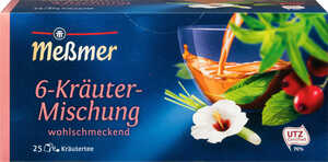 MESSMER  Kräuter- oder Früchte-Tee