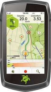 Teasi One 4 Outdoor Navigationsgerät inkl. Speed Sensor, 2 Halterungen