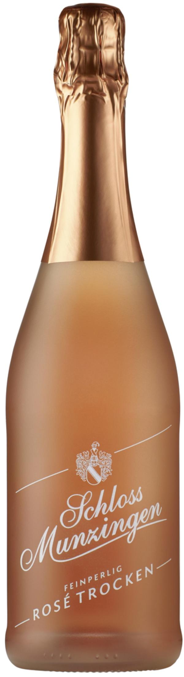 Schloss Munzingen Sekt Rosé Trocken 0,75 ltr