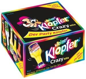Kleiner Klopfer Crazy Mix 25x 20ml 25x 20 ml