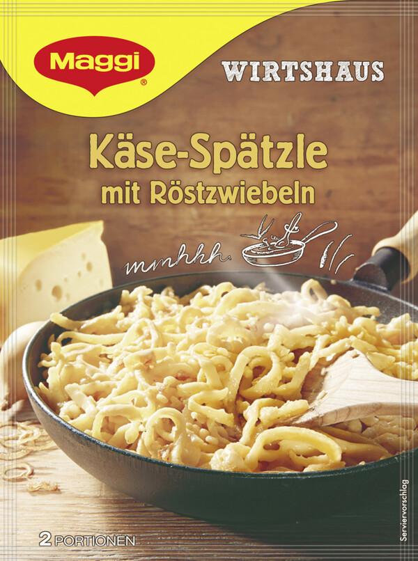 Maggi Wirtshaus Käse-Spätzle mit Röstzwiebeln 119 g