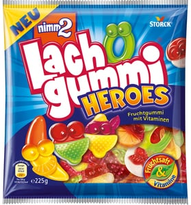 nimm2 Lachgummi Heroes 225 g