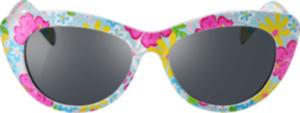 SUNDANCE Sonnenbrille für Kinder mit buntem verspielten Blümchen