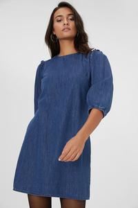 C&A A-Linien Kleid, Blau, Größe: 44