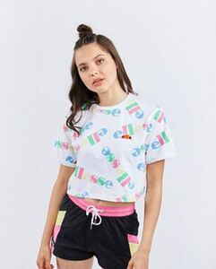 Ellesse All Over Print - Damen T-Shirts