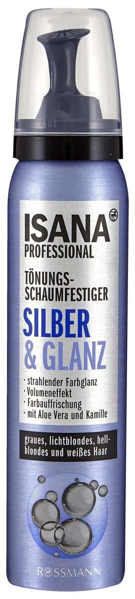 Bild 1 von ISANA Tönungs-Schaumfestiger Silber & Glanz