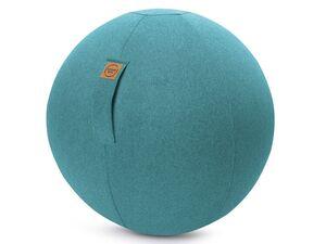 Sitting Ball Sitting Ball »FELT«, mit abnehmbarem Bezug, waschbar, Griff mit Klettband