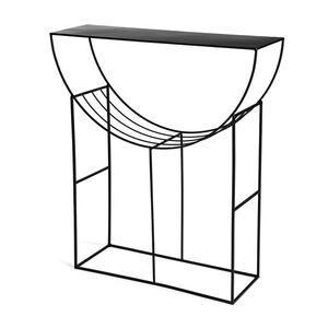 Konsole Elegant, L:80cm x H:90cm, schwarz