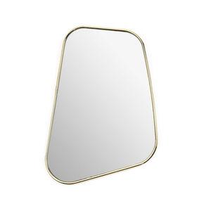 Wandspiegel, L:26cm x B:36cm, gold