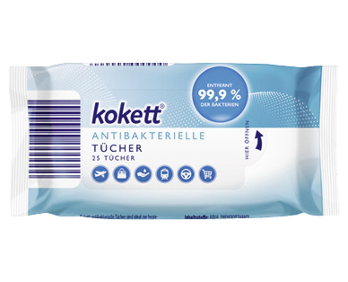 Bild 1 von kokett®  Antibakterielle Tücher