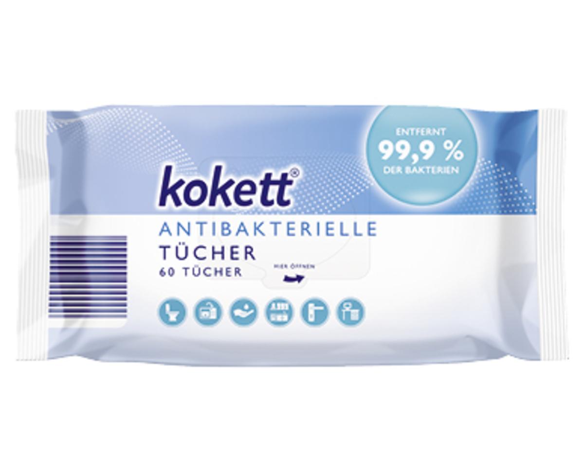 Bild 2 von kokett®  Antibakterielle Tücher