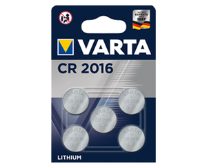5 Lithium Knopfzellen