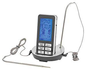 BBQ PREMIUM Funk-Grillthermometer mit Restlaufzeitindikation