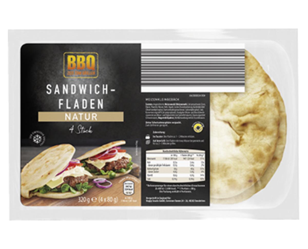 Bild 1 von BBQ Sandwich-Fladen